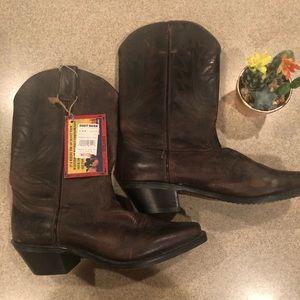 Size Ladies Durango Mushroom Western Boot nwt